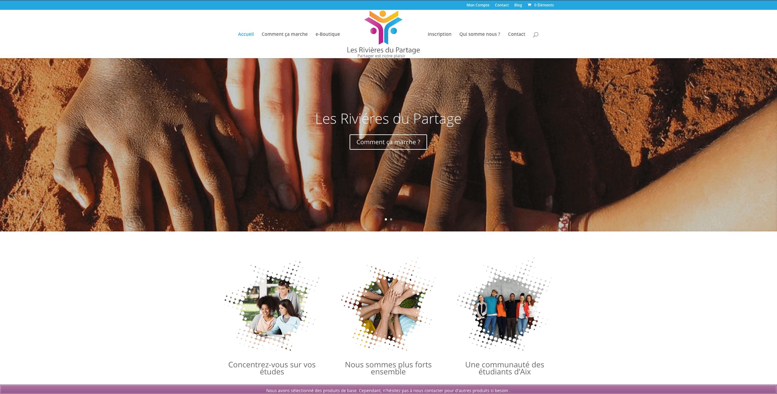 projet site association