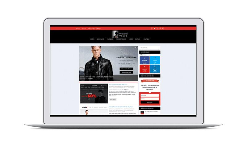 creation de site web monsieur-mode